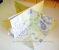square around mini scrapbook