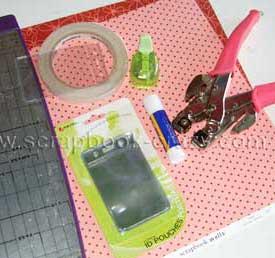 mini album materials