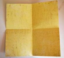 square mini scrapbook
