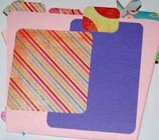 mothers day scrapbook photo mats