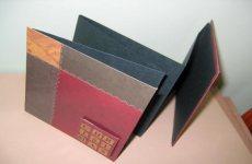 christmas accordion album scrapbook
