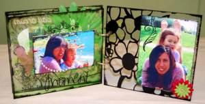acrylic mini book