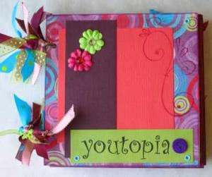 youtopia stamped mini album