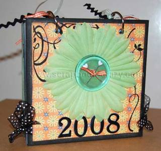 2008 scrapbooking calendar covers