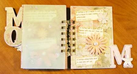 Mother mini book page 3