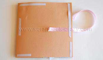 scrapbook baby album keepsake