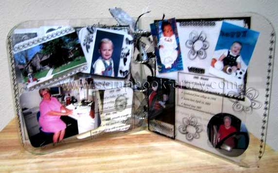 My life mini album - children and grandchildren