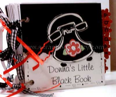 scrapbook gift idea