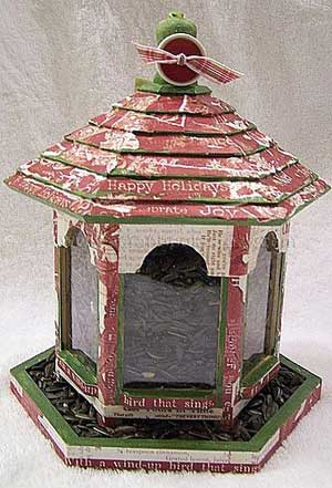 Altered Bird Feeder