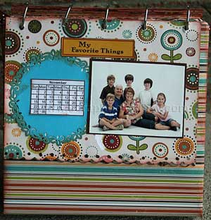 altered family calendar