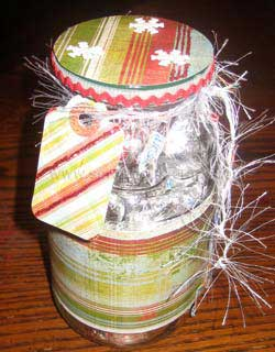 Make Altered Jar Gifts