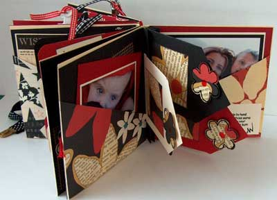 mini album gift by annette west