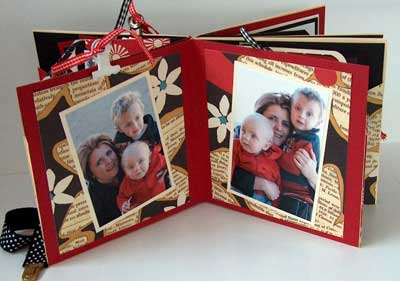 scrapbook gift for a friend