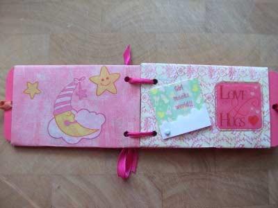 Baby Love Scrapbook Mini Album