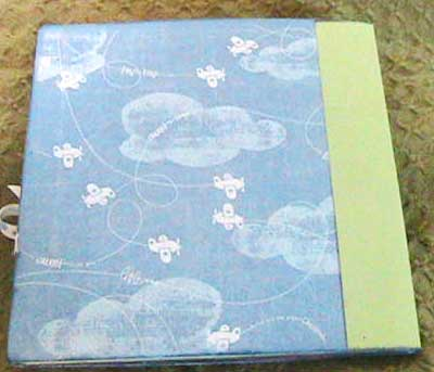 scrapbook baby album - photo mats