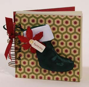 Christmas Stocking Mini Book