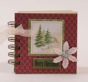 Merry Christmas Mini book