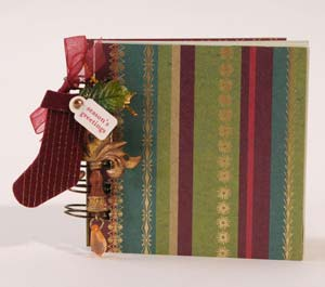 Seasons Greetings Mini Book