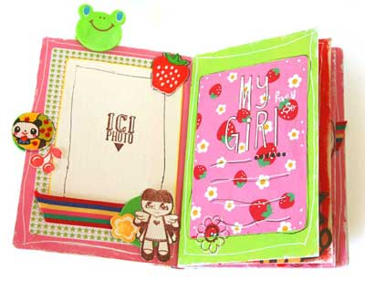 birthday mini scrapbook