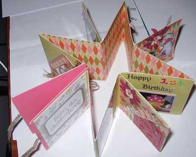 birthday scrapbooking idea
