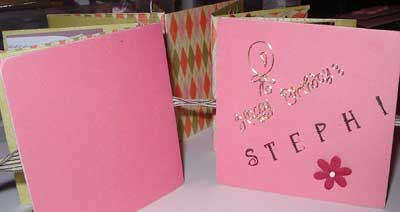 birthday scrapbooking  mini book