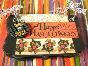 Blackboard Halloween Mini Album