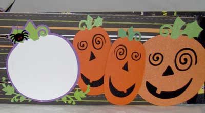 Boo Book - Halloween Mini Scrapbook