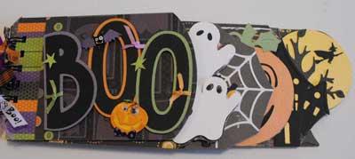 Boo Book - Mini Scrapbooking