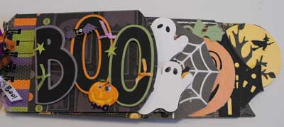 Boo Book - Mini Scrapbooking