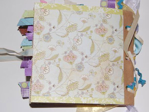baby shower paperbag album