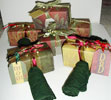 Altered Christmas Napkin Holders