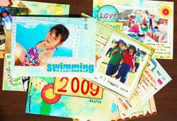 cropmom mini scrapbook photos