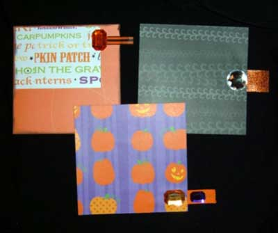 Cute Halloween Mini Album - tags