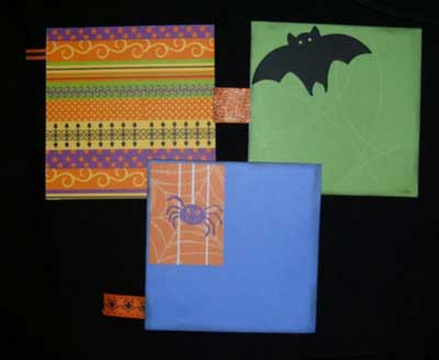 Cute Halloween Mini Album - more tags for photos