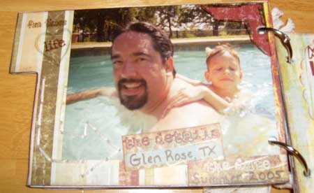 scrapbook present you can make for fathers day