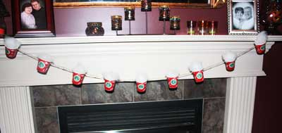 Hot Chocolate Garland