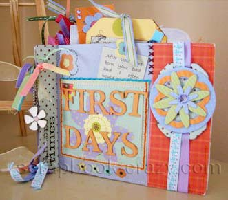 First Days Scrapbook