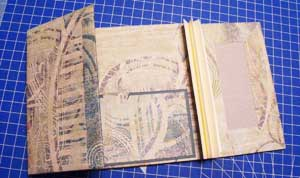 Gatefold Mini Scrapbook - covers