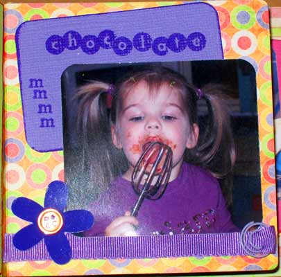 girl match book album of cameron - mmm chocolate