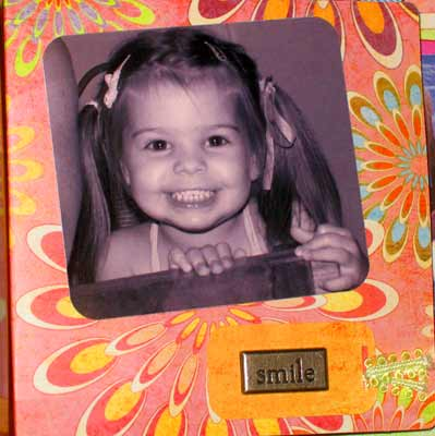 girl match book album of cameron - smile