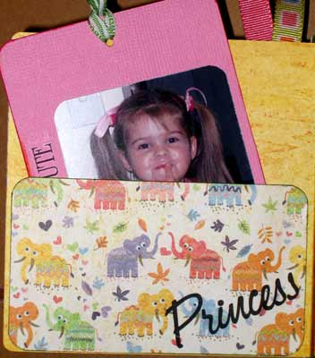 girl match book album of cameron - princess page