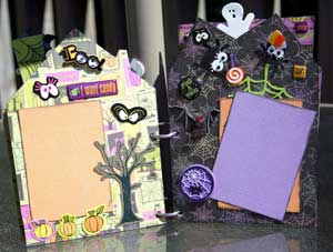 Halloween 2008 Scrapbook - creepy crawlies