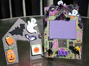 Halloween 2008 Scrapbook inner pages