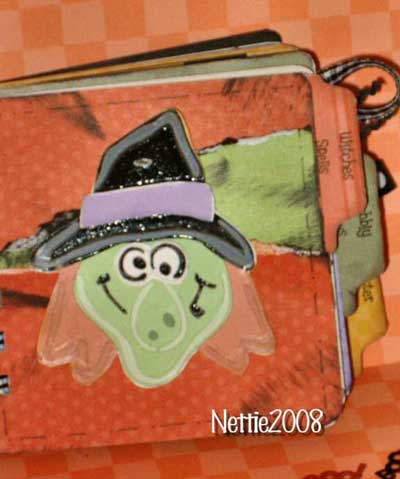 halloween scrapbook - ghosts and goblins