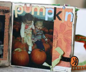 Halloween the years scrapbook