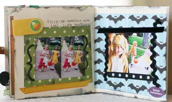 Halloween through the years scrapbook - tooth faries