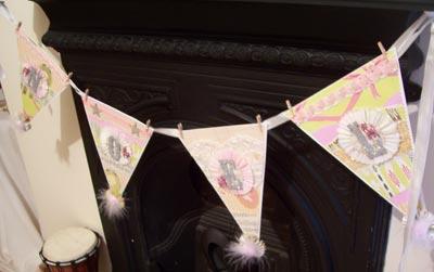 handmade noel banner