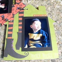 haunted house scrapbook 2