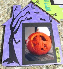 haunted house scrapbook 3