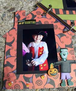 haunted house scrapbook 5